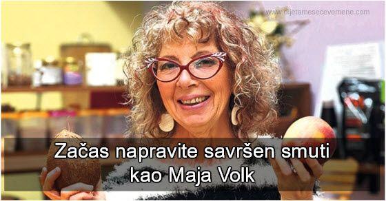 Nutribullet recepti po preporuci Maje Volk