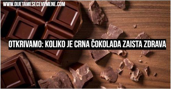 crna cokolada kalorijska vrednost