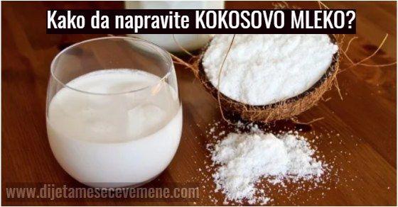Kokosovo mleko upotreba za zdravlje i recepti
