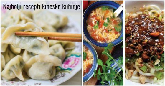 Kineska kuhinja recepti sa povrćem i mesom