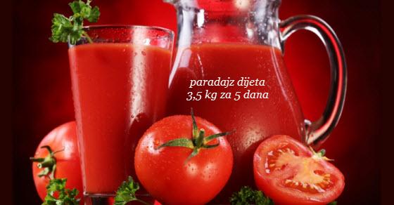 paradajz dijeta iskustva