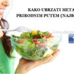 Kako ubrzati metabolizam prirodnim putem
