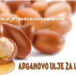 Arganovo ulje za lice i kosu upotreba