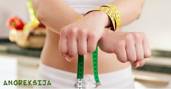 koji su prvi simptomi anoreksije